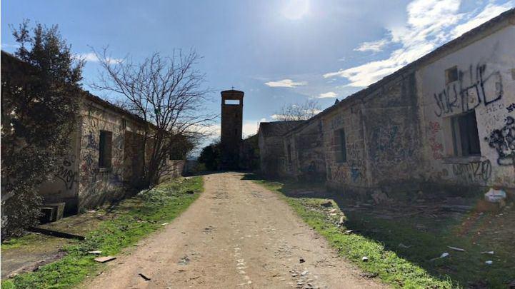 El Alamín, pueblo abandonado cercano a Villa del Prado
