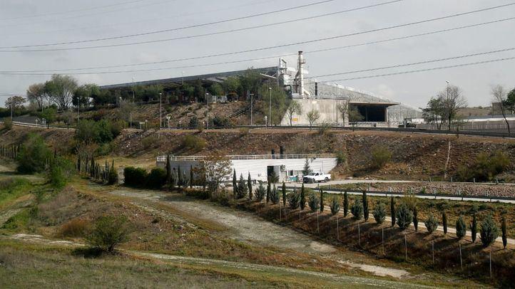 Instalaciones del Parque Tecnológico de Valdemingómez desde el exterior.