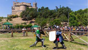 El Castillo de Manzanares el Real acogerá combates medievales en septiembre y octubre