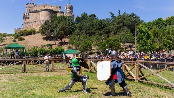 Combate medieval en Manzanares El Real