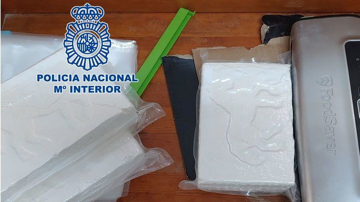 La Policía Nacional desmantela dos laboratorios de cocaína en El Molar