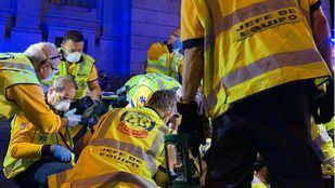 Herido grave de una puñalada en Puente de Vallecas