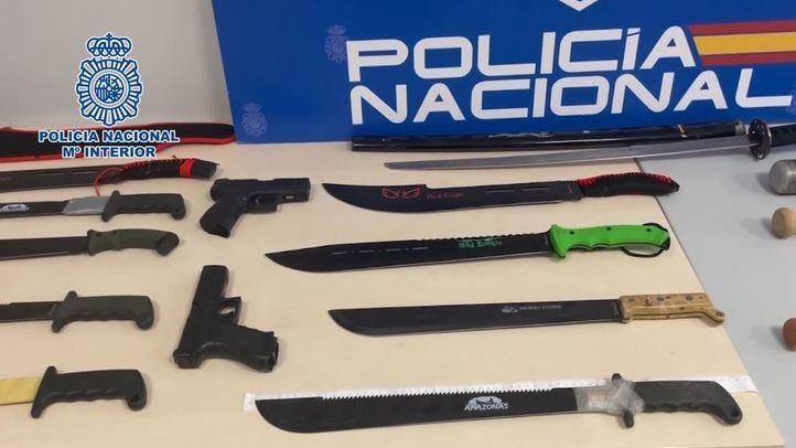 """Operativo contra las bandas """"DDP's"""" y """"Trinitarios"""" en el Corredor del Henares"""