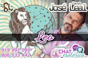José Leal es uno de los videntes tarotistas sin gabinete: Hoy Leo, en el horóscopo, arriésgate por algo que valga la pena