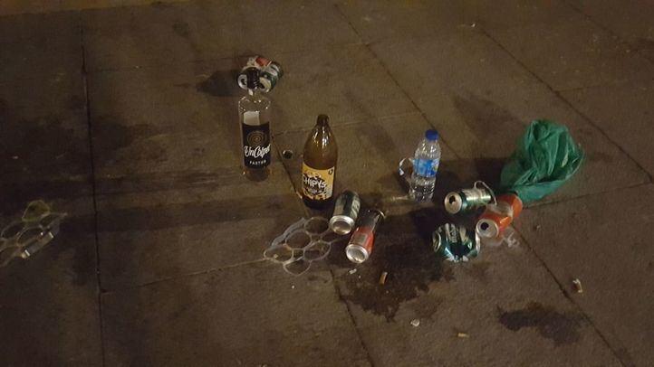 La cifra de botellones aumenta: 694 multas por consumo de alcohol este fin de semana