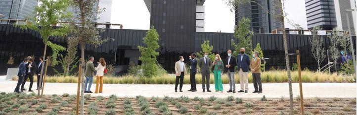 Madrid estrena nueva zona verde: el Parque Caleido