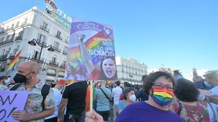 Convocada en Sol una manifestación contra agresiones a personas LGTBI