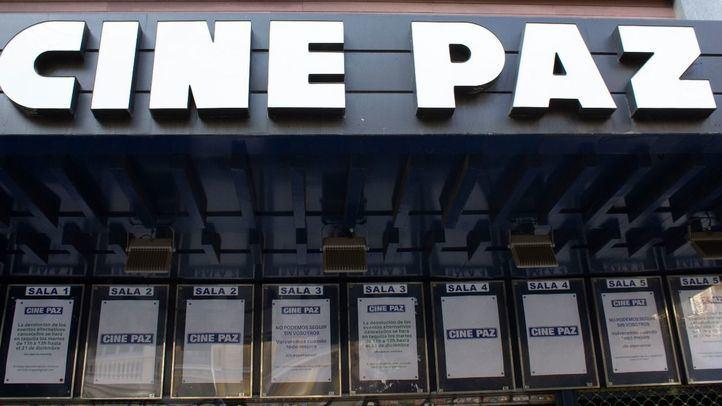 Fachada del Cine Paz