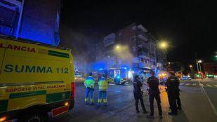 Arde el almacén de una tienda de ropa en San Sebastián de los Reyes