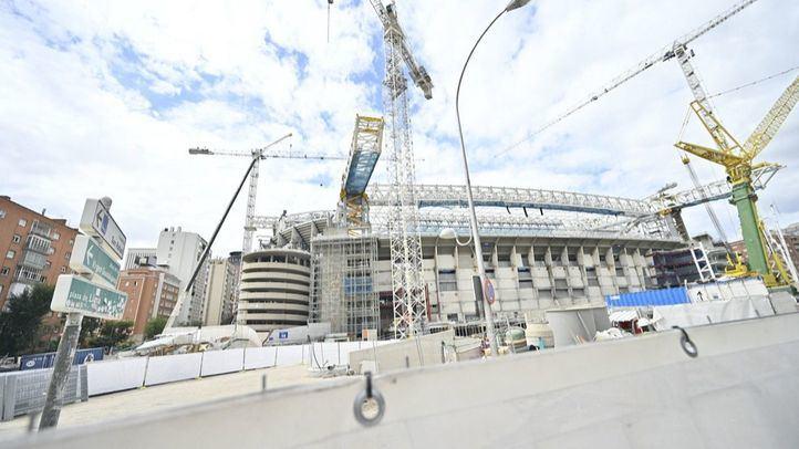 Así luce el estadio, dos días antes de su reapertura de puertas.