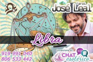 José Leal es uno de los tarotistas y videntes en línea prácticamente gratis: Libra, tu horóscopo de hoy te dice, que debes tomar un tiempo para ti y ejercitarte