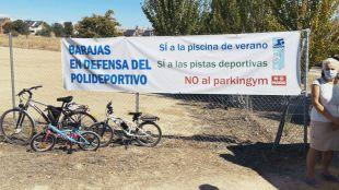 Barajas denuncia los planes del Ayuntamiento: sustituye una piscina por un parking en el nuevo polideportivo