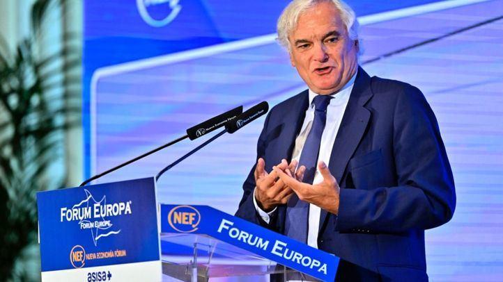 El presidente de CEIM, Miguel Garrido, protagoniza el desayuno informativo de Fórum Economía