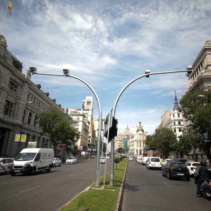 Las cámaras de Madrid Central no multarán en dos meses pero la Policía, sí