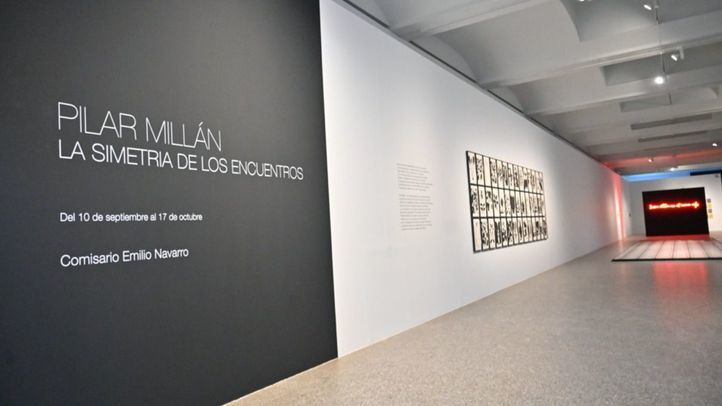`La Simetría de los Encuentros´, la última exposición de Pilar Millán en el Jardín Botánico