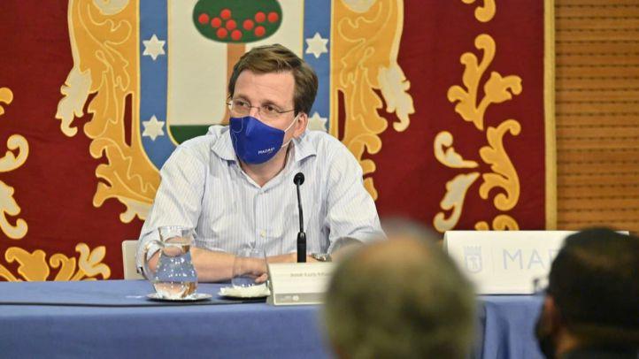 El portavoz nacional del PP y alcalde de Madrid, José Luis Martínez-Almeida, en una imagen de archivo.