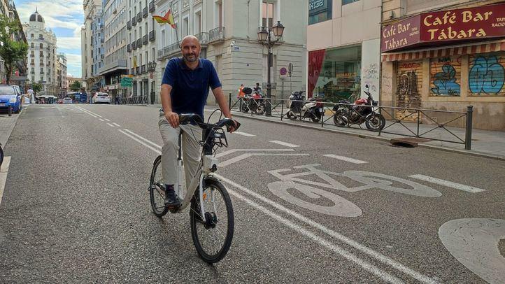 Fernando García, alcalde de la bicicleta de Madrid: 'La nueva ordenanza de movilidad es regresiva para la bici'