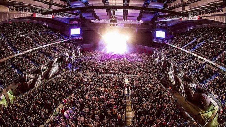 Estadio Wizink Center, en Madrid.