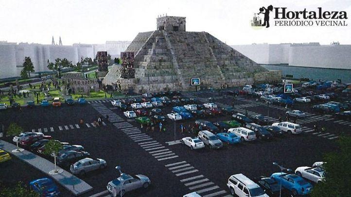 Nacho Cano precisa que no habrá una pirámide en la parcela de Hortaleza y sí una carpa provisional