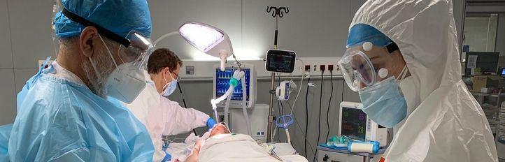 La presión hospitalaria continúa bajando en una jornada con nueve fallecidos