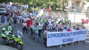 Guardias civiles reclaman igualdad de condiciones con el resto de cuerpos