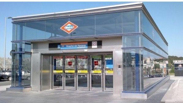 Estación de metro Hospital del Henares, en la línea 7b