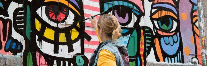 Pinta Malasaña, el arte urbano tiñe de color la capital