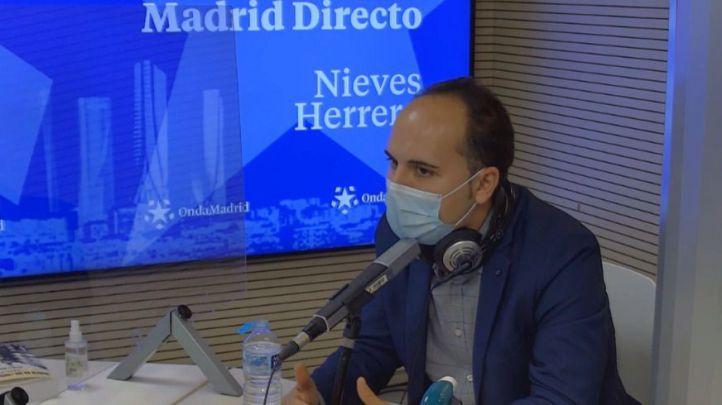 José Manuel Calvo, portavoz adjunto de Recupera Madrid