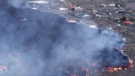 VÍDEOS | Un centenar de viviendas, devoradas por la lava del volcán de La Palma