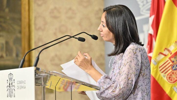 Comparece la delegada del Gobierno en Madrid, Mercedes González
