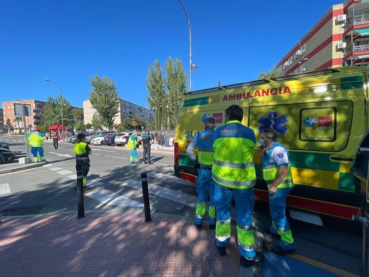 Un coche atropella a un niño de 10 años en Getafe