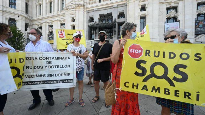 Chamberí denunciará al Ayuntamiento por las terrazas Covid