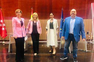 Hana Jalloul, Nieves Herrero, Rocío Monasterio y Constantino Mediavilla en Com.permiso