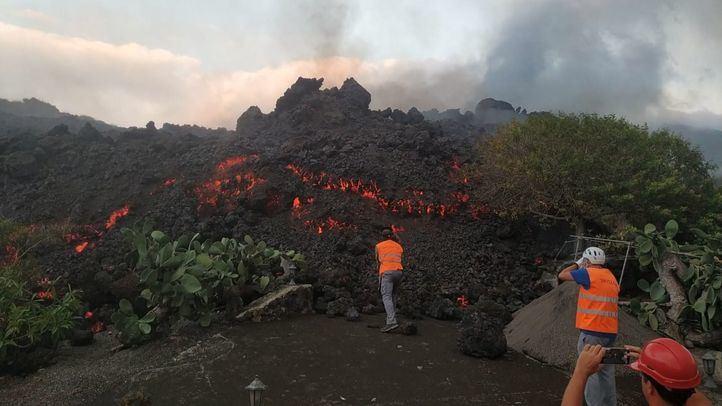 Preocupación al entrar el volcán de La Palma en fase explosiva