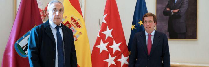 El COE se reúne con Almeida para 'apagar la antorcha olímpica' encedida por Villacís