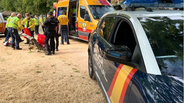 Dos detenidos por el apuñalamiento en un parque de Carabanchel