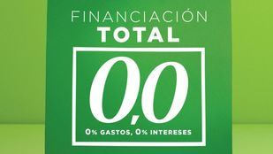 El Corte Inglés lanza 'Financiación Total 0,0' solo para los clientes con tarjeta de compra