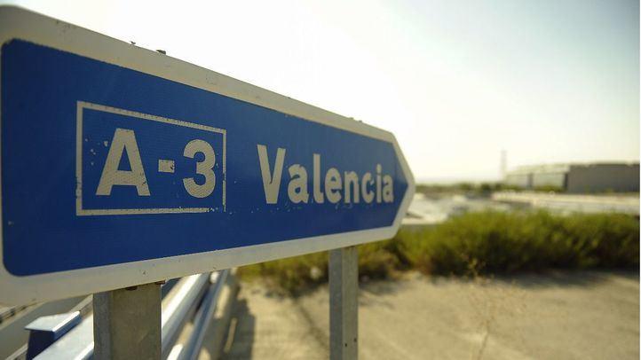 Las obras de la A-3 sentido Valencia cortarán parte de la vía en varios municipios de Madrid desde el lunes