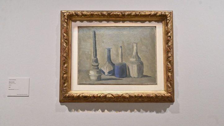 Exposición 'Morandi. Resonancia infinita', en la Fundación Mapfre