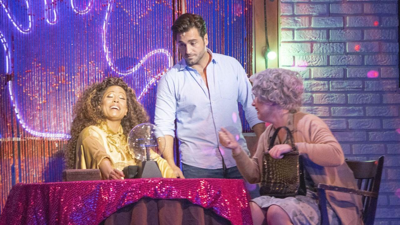 Bustamante debuta en el musical 'Ghost'