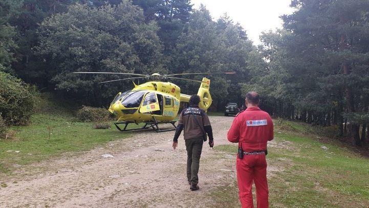 Dos mujeres caen al río en Rascafría por un talud de 5 metros y sufren varias fracturas