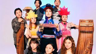 La banda coreana de folk-pop chamánica ADG7 aterriza en Madrid
