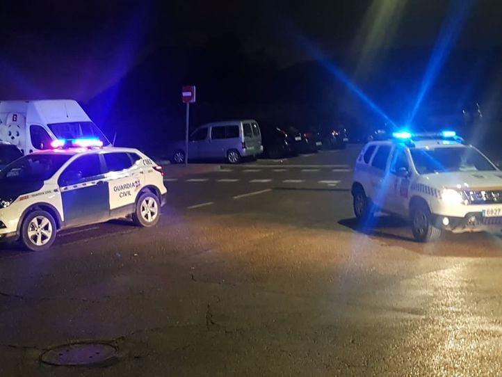 Un herido por arma blanca y siete detenidos en un botellón en Villaviciosa de Odón