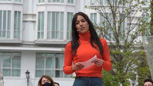 Begoña Villacís, en el acto de presentación de Edmundo Bal como candidato a la presidencia de la Comunidad de Madrid