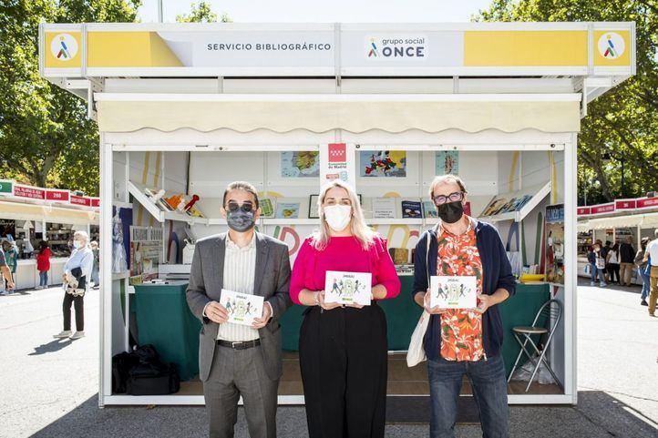 Presentacion de 'Mira' durante La Feria del Libro de Madrid