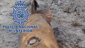 Desactivada una bomba de la Guerra Civil en unas obras de construcción de viviendas en Aravaca (Madrid)