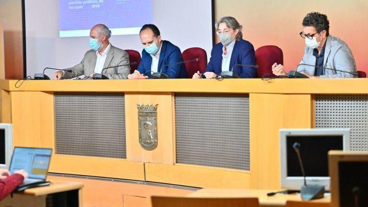 El Grupo Mixto presenta su nuevo espacio web y las proposiciones que elevará al próximo Pleno del Ayuntamiento de Madrid,
