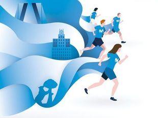 Cartel del Medio Maratón de Madrid