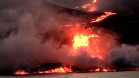 El lado bueno de que la lava del volcán de La Palma haya llegado al mar