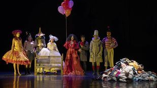 La gioia, el espectáculo que el autor, actor y director italiano Pippo Delbono presenta en la Sala Roja de Teatros del Canal